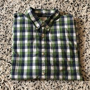 Jack Spade Plaid Long Sleeve Button Down
